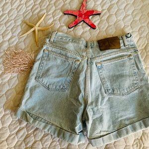 Vintage High Waisted CK Mom Shorts